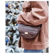 風靡Ins超火爆時尚款 喜哥同款 Wandler Anna鱷魚紋腰包 斜背包 手拿包 紅色 物美價廉特賣款