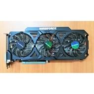 技嘉庫存新品 GTX770 WINDFORCE GDDR5 2GB/4GB 三風扇 四熱管 6P+8P 600W 960