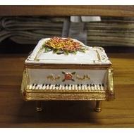 ***晶鑽玫瑰鋼琴擺飾***送禮/入厝/擺飾/鋼琴