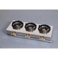 (0955289003) 輝力牌三口海產爐, 3MB--(需外部火源點火)