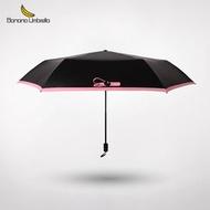 Banana Umbrella Air碳纖維折疊傘隨身傘三折傘超輕防曬晴雨傘