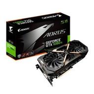 (二手)GIGABYTE技嘉 AORUS GeForce GTX 1080 Ti 11G 顯示卡 鷹神版