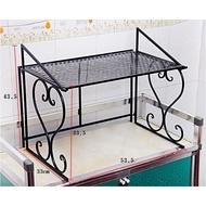 Saiz Besar Tahan 15kg Microwave Rack Oven Rack Kitchen Rack Printer Rack Rak Microwave Rak Oven Rak Printer