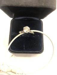 【RECOVER名品二手】TIFFANY 1.01克拉鑽石戒子 鑽戒 附原廠證書 100%真品