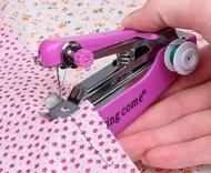 迷你縫紉機便攜式迷你小型手持縫紉機多功能手動微型裁縫機