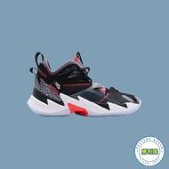 【NIKE】JORDAN WHY NOT ZERO 3.0 GS 大童鞋 女鞋 籃球鞋 黑白 橘 爆裂紋 WESTBROOK 球星款 CD5804-006【勝利屋】