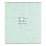 DESIGNPHIL  MIDORI Green color colored paper folded in two clover pattern 33140006 00842794 [buying five books set]