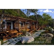 【Rock的家】苗栗大湖 石壁溫泉渡假山莊 山水景觀VILLA雙人房住宿卷 含早餐