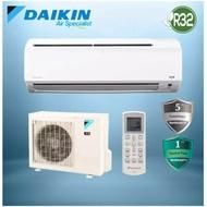 DAIKIN 1.0HP (R32) FTV28P / RV28F AIR CONDITIONER AIRCOND WALL MOUNTED AIR COND