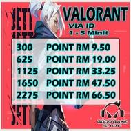 Promo Valorant Via ID - Point Valorant Via ID - Valorant Topup Via ID - Topup Point Valorant Via ID