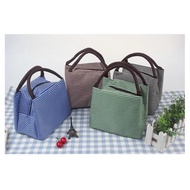 New striped thermal lunch bag thermal lunch bag