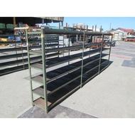 [龍宗清] 6層角鐵架(重型架) (16062701-0005) 重型鐵架 模具架 物料架 多層架  6層鐵架 6層角鋼