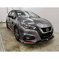 Nissan Almera 2020 2021 2020 drive 68 Bodykit body kit front side rear skirt lip Ducktail