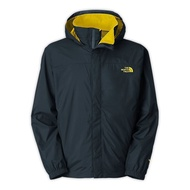 【The North Face】The North Face 男 HyVent 防水外套 太空藍/酸黃 $4200