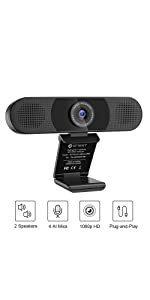 eMeet - C980 Pro 高清攝像鏡頭