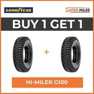 2pcs GOODYEAR 1000-20 HI MILER G100 Car Tires