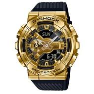 CASIO 卡西歐/G-SHOCK 重工業風金屬雙顯手錶(GM-110G-1A9)