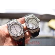 【名錶】AP愛彼皇家橡樹15452滿天星鑽殼情侶對錶機械錶 男款41mm 女款37mm大牌