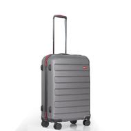 WETZLARS กระเป๋าเดินทาง ABS ขนาด 24 นิ้ว สีเทาเข้ม A-9361GR-2
