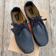 [READY STOCK] CLARKS NATALIE (01) Genuine Black Leather S1900001