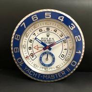 現貨 ROLEX勞力士掛鐘超強夜光 勞力士遊艇名仕款 水鬼王 迪通拿 系列掛鐘 壁鐘 時鐘