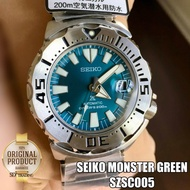 SEIKO Prospex Japan Limited Green Monster Automatic 200m รุ่น SZSC005 - Silver/Green