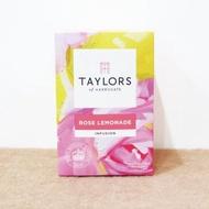【英國泰勒茶Taylors】玫瑰檸檬茶 20包/盒(洛神花、玫瑰果、蘋果片、甜黑莓葉、香茅、檸檬皮、玫瑰花瓣)