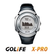 GOLiFE GoWatch X-PRO 全方位智慧戶外運動GPS腕錶-銀色