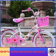 basikal folding bicycle bicycle mtb bike ღChildren's bicycle 16182022 inch girl bike folding bike 6-9-12-16 years old sc