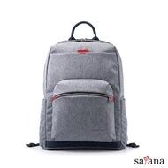 【satana】Fresh 輕職人電腦後背包(麻花灰)