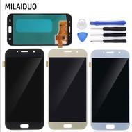 適用於三星 Galaxy A7 2017 A720 SM- A720F A720M A720Y/DS 螢幕總成 OLED