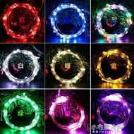 led燈串節日燈串 USB帶遙控燈串 銅線銀線燈串 聖誕節裝飾小彩燈交換禮物