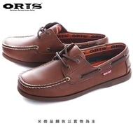 【oris 帆船鞋】ORIS復古素色帆船鞋-淺咖啡/女款-766A05(真皮/手工/帆船鞋)