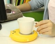 小熊USB保溫碟電加熱杯墊溫奶器暖奶器恆溫寶加熱底座【Miss.Sugar】【K4002332】