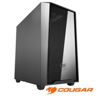 【COUGAR 美洲獅】MG120 鏡面小立式機箱 絕佳散熱機殼(Mini ITX / Micro ATX)