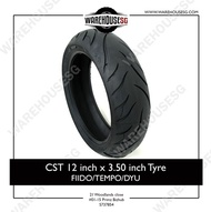 CST 12 inch x 3.50 inch Tyre for Fiido/Dyu/Tempo