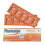 Pharmaton Formula 1 Box Of 10 Soft Capsules - Multivitamin Mineral Gingseng G115