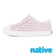 native 小童鞋 JEFFERSON 小奶油頭鞋-星鑽粉x貝殼白