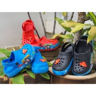 [Shop Malaysia] [READY STOCK] Superman Kid's Sandal's Crocs
