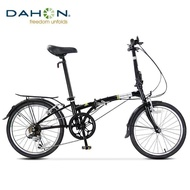 DAHON folding bicycle HAT060 20 inchs adult student male and female 6-speed variable speed ultra-light foldable bike D6