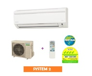 Daikin Inverter System 2 Aircon * 4 TICKS *
