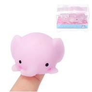 ช้าง Mochi Squishy บีบน่ารัก Healing Toy Kawaii คอลเลกชันของขวัญความเครียด Reliever ของขวัญ