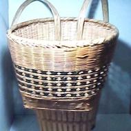 【二手】竹編孩子背籃 - 21094