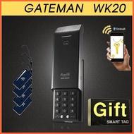 [Gateman蓋特曼] 數位密碼指紋輔助鎖 WK20 / 防水 / 密碼+門禁卡