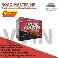 NS60 NS60L Century RoadMaster MF Battery Free Delivery& Installation Service