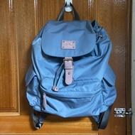 Zoila風格束口後背包(中)粉紫藍色