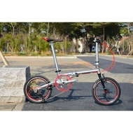 Ready Stock Free shipping ant fnhonFGC1609 SP9 9-speed popular steel frame folding bike chrome-molybdenum warranty for three years