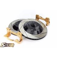【 S-TEAM  劃線加大碟盤組 / FORD TIERRA  (後) 302 mm  】