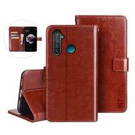 【IN7】瘋馬紋 realme C3  6.5吋 錢包式 磁扣側掀PU皮套 手機皮套保護殼(吊飾孔 插卡皮套)