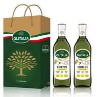 Olitalia奧利塔 高溫專用葵花油禮盒組 750mlx2瓶